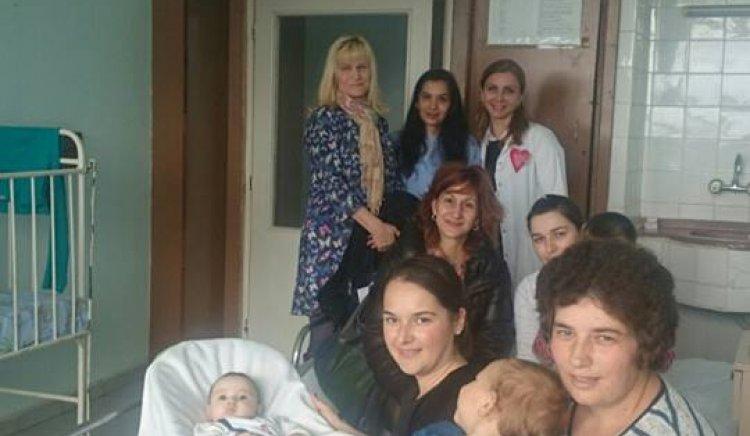 """Жените социалистки в Кърджали отново зарадваха децата в  МБАЛ """"Д-р Атанас Дафовски"""""""